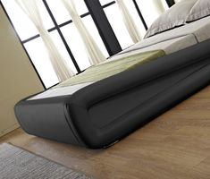 Buy the Hazlo Gabriela Modern Curve Style Faux Leather Bed Base - Black (size: Queen) online from Takealot. Many ways to pay. Free Delivery Available. Hassle-Free Exchanges & Returns for 30 Days. We offer fast, reliable delivery to your door.