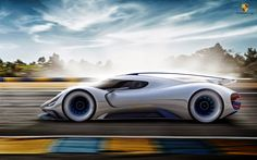 Porsche Electric Le Mans 2035 - Gilsung Park - 2014/15 Winter Semester - Master Thesis - Hochschule Pforzheim with Advanced Studio PORSCHE AG