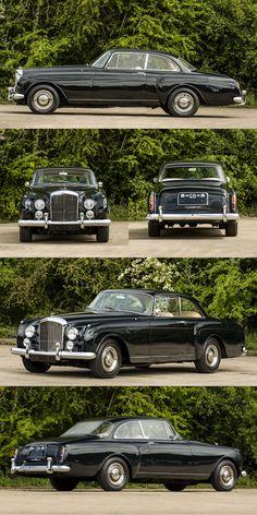 1959 Bentley S2 Continental Mulliner Coupé / 6.2l V8 / UK / black / 17-291