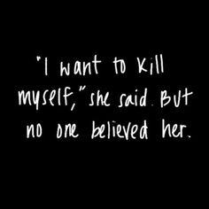 #suicide #depression #depressed #bipolar #quotes #suicidal #cuts #selfharm Dark Quotes, Me Quotes, Qoutes, Suicide Quotes, Depression Quotes, Favim, How I Feel, Tumblr, Deep Thoughts