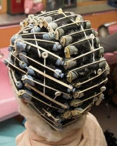 Getting A Perm, Perm Rods, Perms, Roller Set, Permed Hairstyles, Hair Beauty, Hair Styles, Perm Hairstyles, Hair Plait Styles