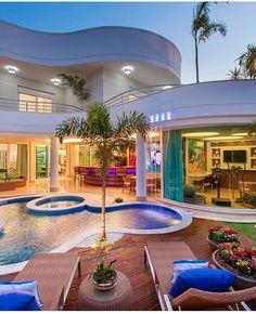 Casa sobrado com fachada moderna em terreno 12x30 for Casa moderna vigo