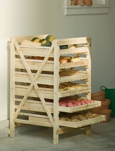 Orchard Rack, 6 Drawer - this is brilliant. wish i had a cellar!