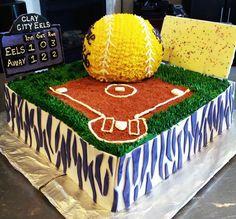 Senior Night Softball cake