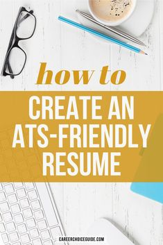 How to format your resume so it is optimized to pass the applicant tracking software (ATS) screening process. #resumes #careerchoiceguide Resume Layout, Resume Format, Resume Writing, Resume Design, Cover Letter Tips, Writing A Cover Letter, Cover Letters, Tracking Software, Tracking System