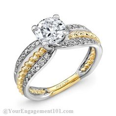 Roberta's Jewelers can custom make this dream ring for you!