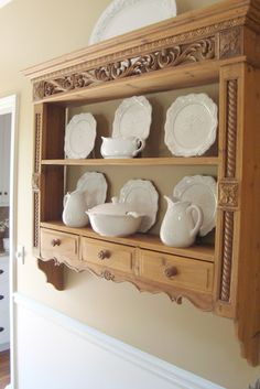 The Essence of Home- dining room shelf option.  thanks Vicky for sending me this link you rock!