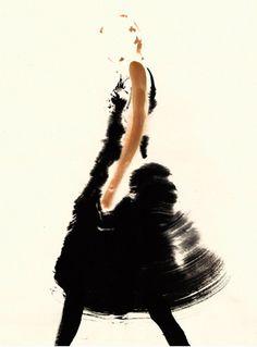 Fashion in Watercolor by Aurore de la Morinerie