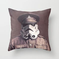 Sgt. Stormley  Throw Pillow