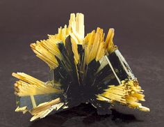 Hematite, Rutile. Rutile is a mineral composed primarily of titanium dioxide, TiO₂. Rutile is the most common natural form of TiO₂.