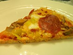 Ginny's Low Carb Kitchen: Search results for chicken coconut crust pizza