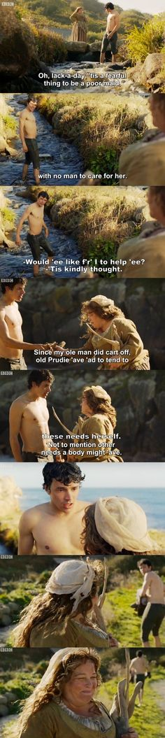 Poldark S03E02 - Prudie and Drake.