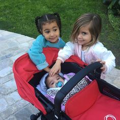 North West and Penelope Disick Show 'Cousin Love' to Baby Dream Kardashian: See the Cute Pics! Dream Kardashian, Robert Kardashian, Kardashian Family, Kardashian Jenner, Kardashian Kollection, Kourtney Kardashian, Kylie Jenner, Cute Kids, Cute Babies