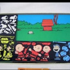 Colorforms!! I played with this Charlie Brown set for hours as a kid.