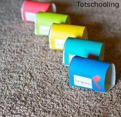 Mailbox Word Families Kindergarten Activity | Totschooling - Toddler, Preschool, Kindergarten Educational Printables