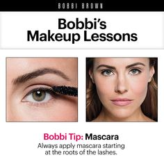 Bobbi Brown Makeup Lessons: Mascara Tips