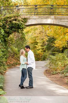 Longwood Gardens, Fall, Engagement  Photo from Eric & Jen collection by Jennifer McHugh Photography
