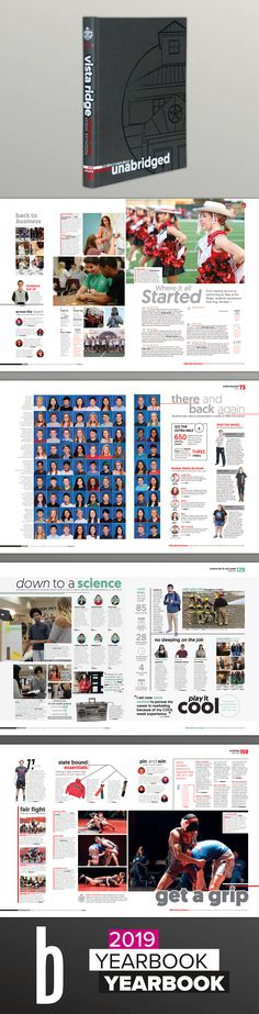 A Design Collection - Best of 2018 & Featured Balfour Yearbooks Yearbook Pages, Yearbook Layouts, Yearbook Design, Storytelling Quotes, Story Of The Year, Student Picture, Type Treatments, Photo Packages, Cedar Park
