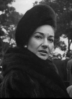 Maria Callas, Diva da ópera.