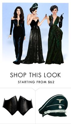 """""""The Elite"""" by slytherin-pirate-chick ❤ liked on Polyvore featuring Marios Schwab, Alaïa, Wolford, Lena Hoschek and Kane"""