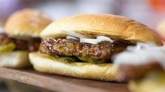 Homemade version of the McDonald's McRib, recipe from Al Roker