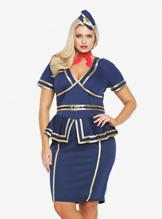 Plus Size Costumes For Women | plus size sailor dress from Domino ...