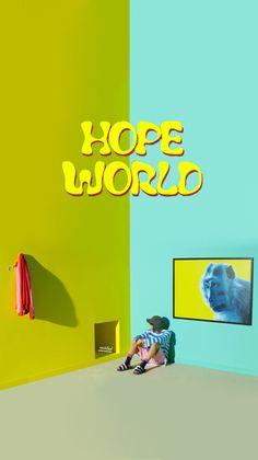 BTS WALLPAPER JUNGHOSEOK JHOPE HOPE WORLD DAYDREAM