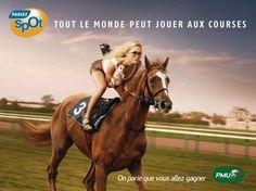 publicité PMU #cheval