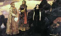 Три царевны подземного царства. Виктор Васнецов