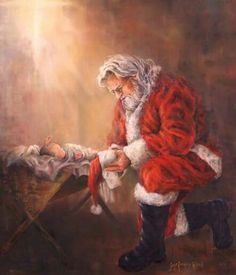 Jesus & Santa