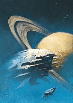 Off the rings of Saturn by Oliver Cuthbertson