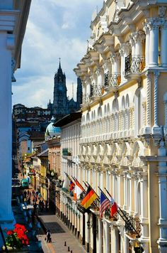 Spanish Colonial Quito, Ecuador