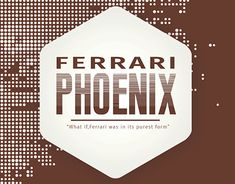 "Check out new work on my @Behance portfolio: ""Ferrari Phoenix"" http://be.net/gallery/59470397/Ferrari-Phoenix"