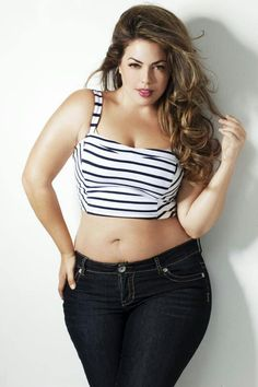 Plus size model. There. I fixed it. Everyone happy now?