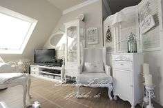 Shabby and Charming: A beautiful attic shabby chic in Berlin