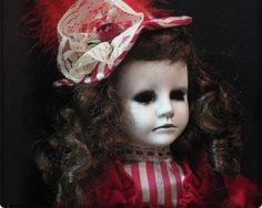 creepy victorian dolls | creepy creepy doll scary horror bloody victorian doll porcelain