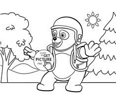 special agent oso coloring pages Printables for Kids Pinterest