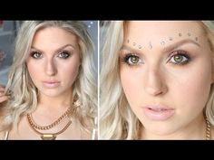 Boho Inspired Makeup & Hair ♡ Natural Looking Skin w/ Freckles!