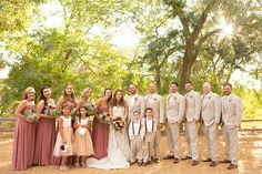 Romantic rose gold wedding inspiration with the groom and groomsmen in tan suits. Romantic rose gold wedding inspiration with the groom and groomsmen in tan suits . Tan Suit Wedding, Khaki Wedding, Dusty Rose Wedding, Gold Wedding, Rustic Wedding, Dream Wedding, Trendy Wedding, Wedding Tuxedos, Wedding Hair