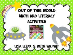 Your little astronauts will love this unit that is fun and engaging! This 94 page unit focuses on first and second grade math and literacy standard. Help Teaching, Teaching Math, Teaching Resources, Teaching Ideas, Future Classroom, Classroom Ideas, Fact Families, Teacher Created Resources, Educational Crafts
