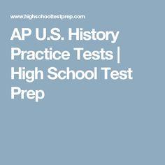 AP U.S. History Practice Tests | High School Test Prep