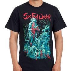 OFFICIAL ~ SIX FEET UNDER Undead t-shirt