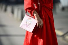 RED WRAP | #StreetStyle On #TheStreetMuse.it by #MelanieGalea