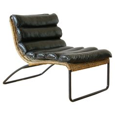 U.S.1950's Split reed lounge chair designed by Hendrik Van Keppel and Taylor Green. Now that is a poetic symmetry of design, craft and materials.