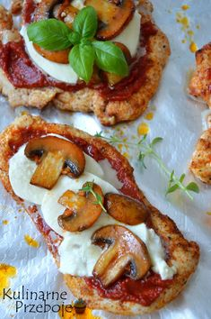 Filety piersi z kurczaka a'la pizza
