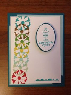 Stampin up Petal Parade and Best of Birthdays by Nadia