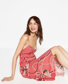 Image 5 of PRINTED CAMISOLE DRESS from Zara