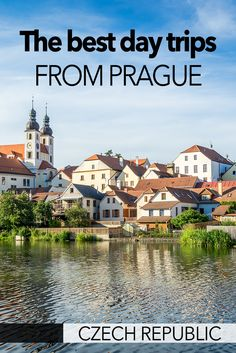 Here are the best day trips from Prague in the Czech Republic. With fairy tale cities, charming towns, churches, modern architecture, and hiking - there are lots of amazing suggestions for how to do a trip from Prague in the Czech Republic for the day. Cool Places To Visit, Places To Travel, Travel Destinations, Travel Deals, Travel Hacks, Europe Travel Guide, Travel Guides, Day Trips From Prague, Online Travel Agent