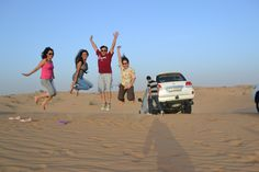 Holiday Inn Dubai - Al Barsha Team enjoying at Desert Safari..