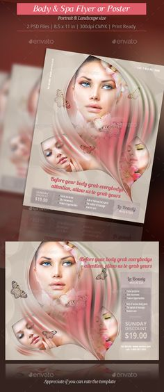 Hair \ Beauty Billboard Billboard, Signage and Logos - hair salon flyer template